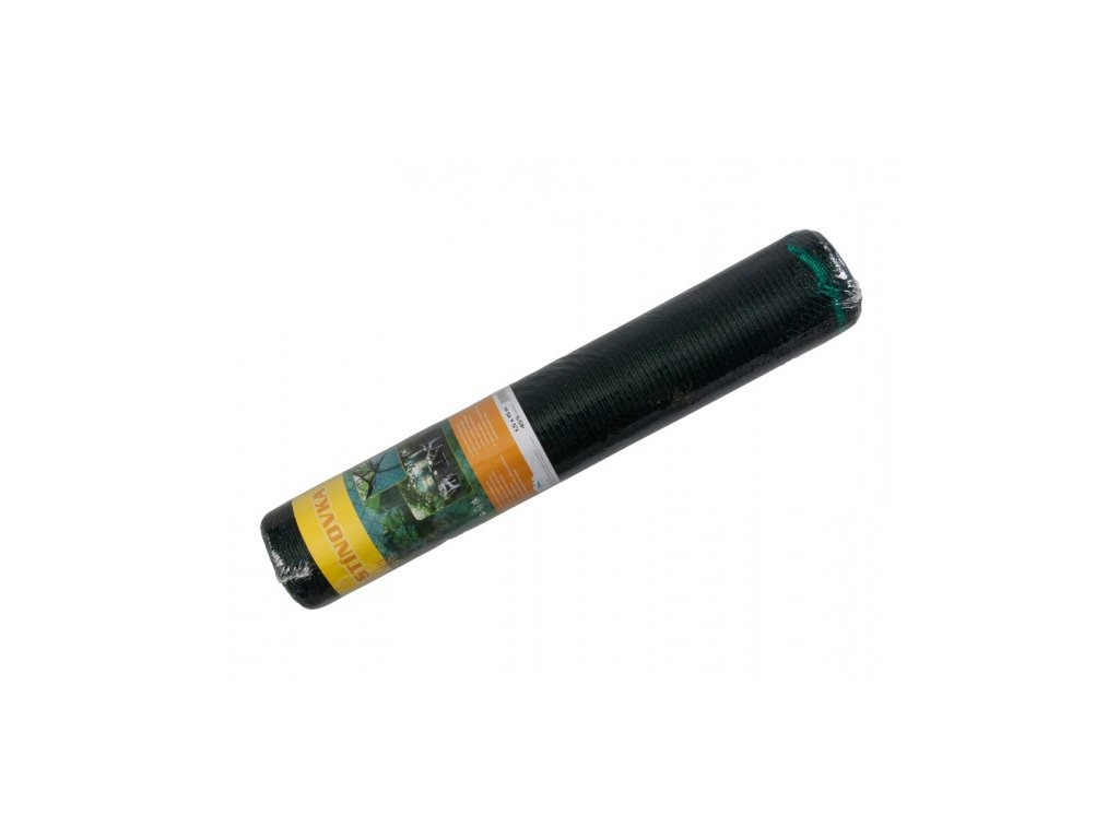 Stínovka PE 45% s oky zelená návin 1,5x15m