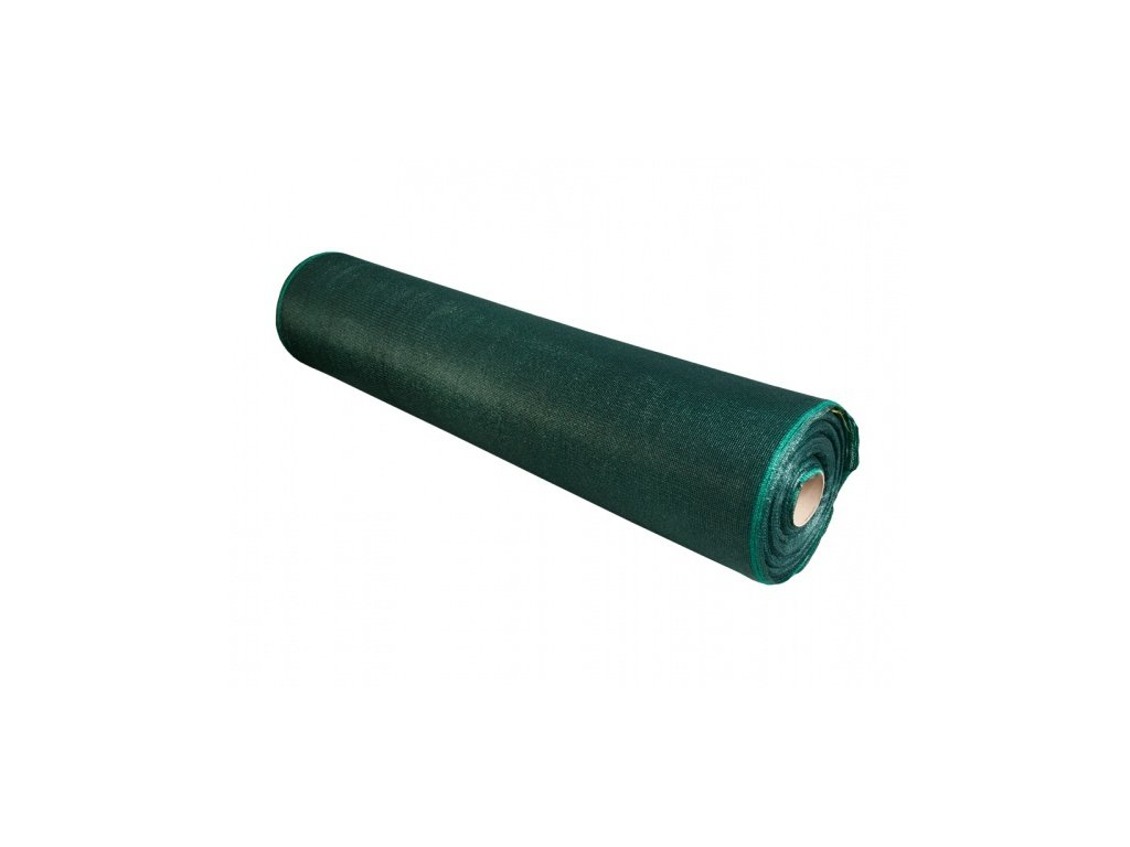 Stínovka PE 45% s oky zelená 1,5x100m