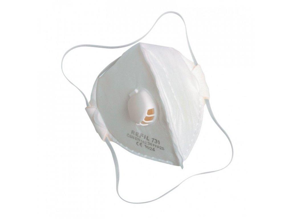 respirator refil 711 ffp1s
