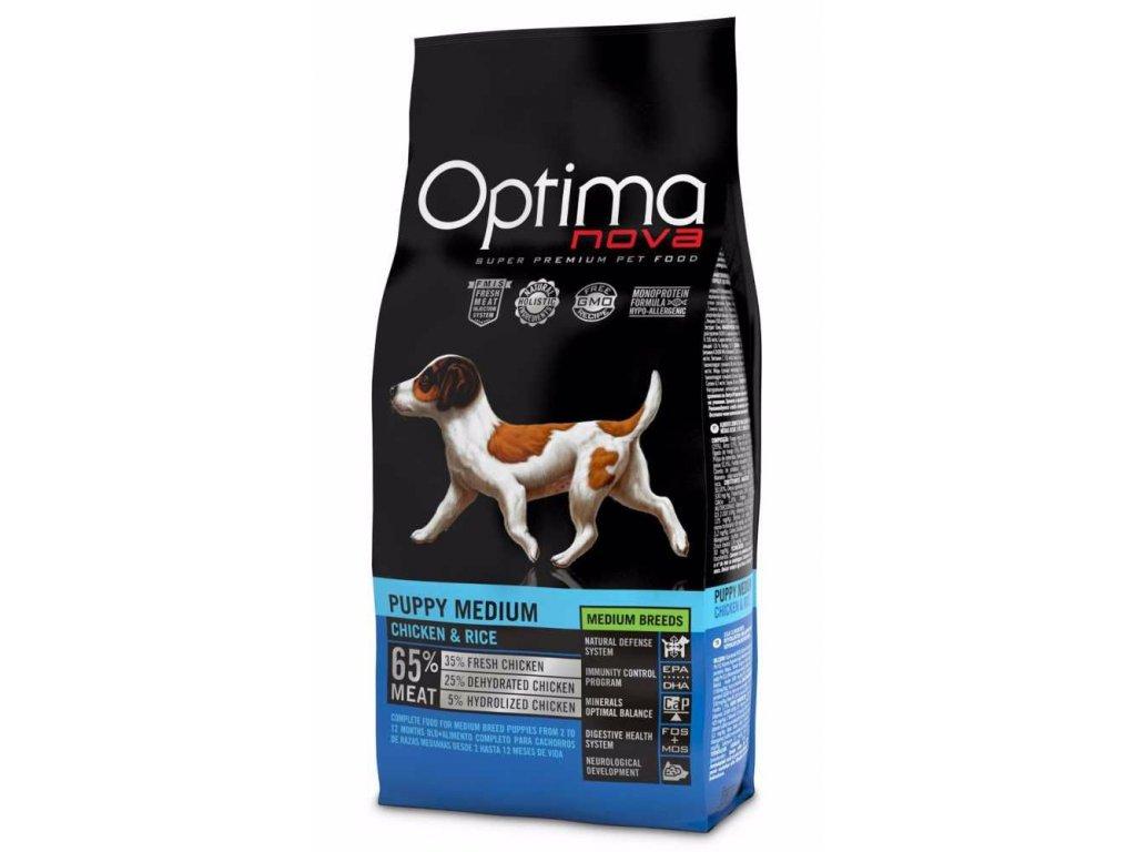 OPTIMAnova dog PUPPY MEDIUM 2kg-11078