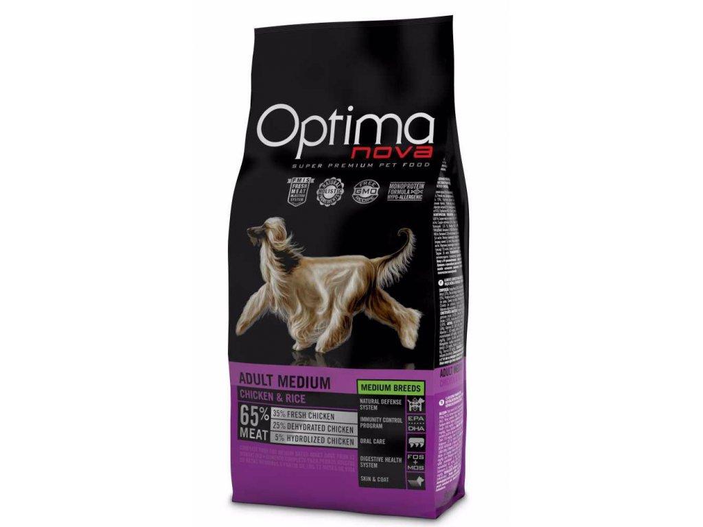 OPTIMAnova dog ADULT MEDIUM 12kg-11081