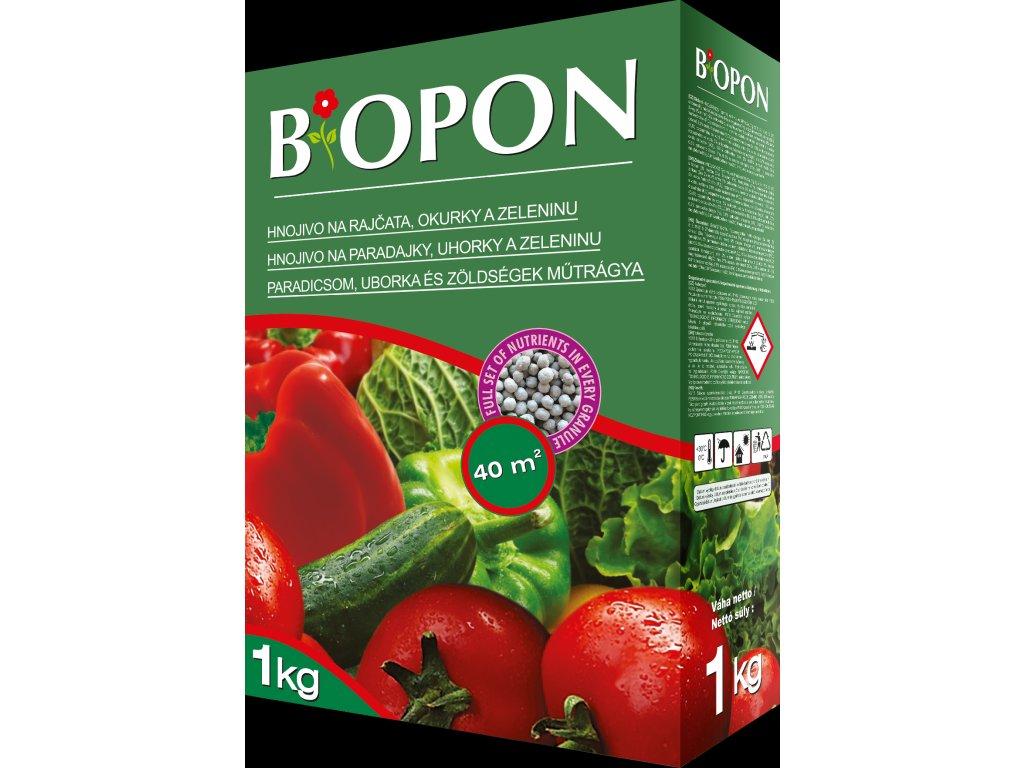 Hnojivo BIOPON na rajčata,okurky1kg + elixír DUO ZDARMA