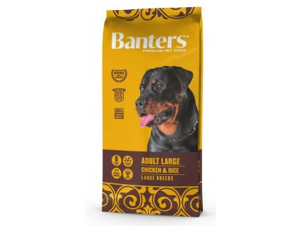 Banters Adult LARGE Chicken&Rice 15kg-14191