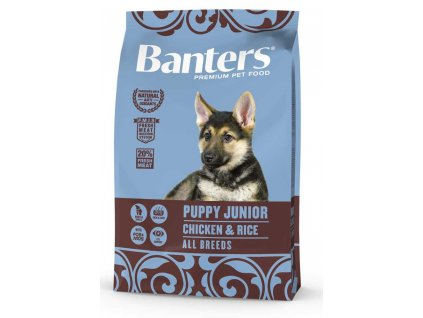 Banters Puppy Junior Chicken&Rice 3kg-14607