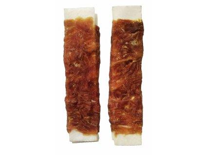 Buvolí plátky obalené-Kachna 15cm (45-55g)-10ks-14804