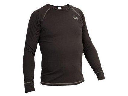 Pánské funkční tričko ACTIVE, dl. rukáv, šedé