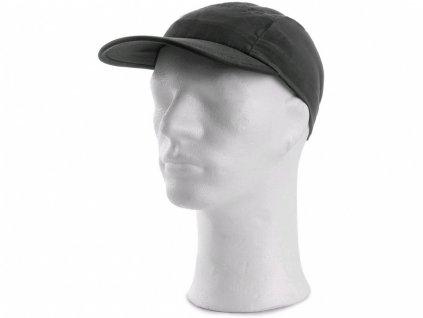 Čepice AMOS, s kšiltem, letní, černá