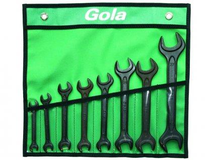 GOLA 710008 - sada otevřených maticových DIN 895, 8ks