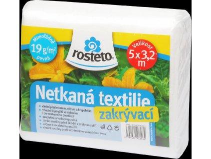 Rosteto Neotex netkaná textilie bílá 19g šíře 5 x 3,2 m