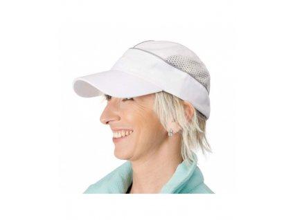 ALZETTE kšiltovka odlehčená s větrací mřížkou - bílá
