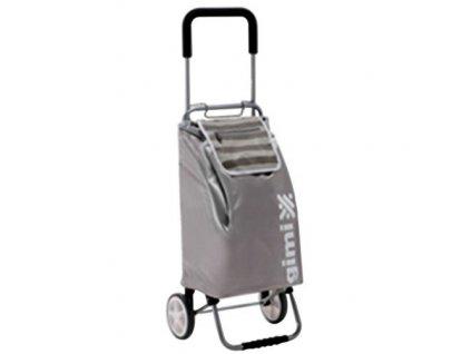 GIMI FLEXI - nákupní vozík 45L, šedá