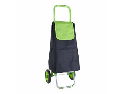 taška nákupní RIO 32l, nosnost 30 kg ČER/ZE