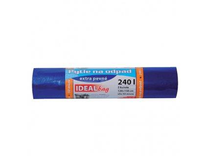Ideal Bag velkoobjemový extra pevný pytel 240l, 5 ks, 50my