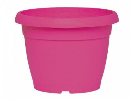 Květník SIMILCOTTO DEKOR plastový fialovo růžový d30cm