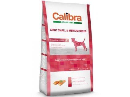 Calibra 12kg GF střední pes losos
