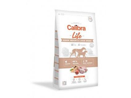 Calibra 2,5kg Life starší střed.+velký pes kuře