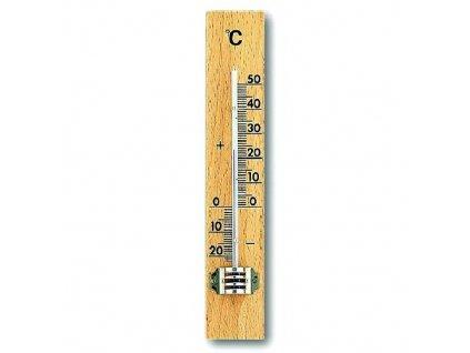 teploměr pokojový 15cm dřev. 12.1001