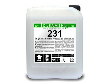 0000730 CLEAMEN 231 strojni oplach nadobi 5L