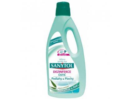 sanytol dezinfekcni univerzalni cistic na podlahy a plochy vune eukalyptus 1 l