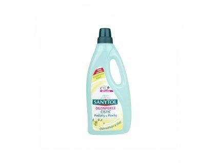 sanytol dezinfekcni univerzalni cistic na podlahy a plochy vune citron 1 l