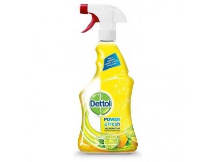 Dettol 500ml antibakterální sprej na plochy Citron&Limetka