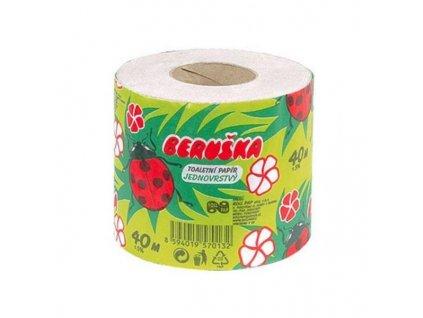 Beruška toaletní papír 1vrstvý 40 m