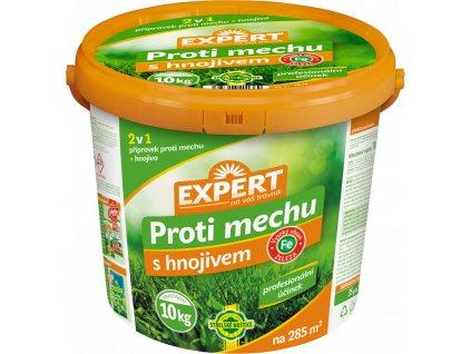 Přípravek EXPERT na trávník proti mechu s hnojivem 10kg