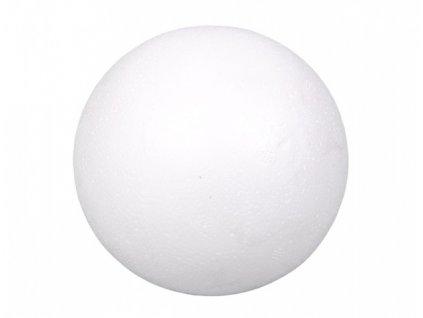 Koule aranžovací polystyrenová plná d12cm