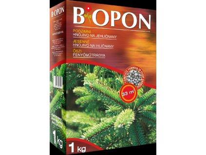 Biopon Podzimní - jehličnany 1 kg