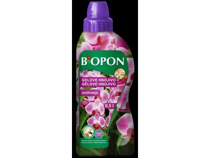 Biopon gelový - orchideje 500 ml
