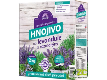 Hnojivo Profík - levandule a rozmarýny 2 kg