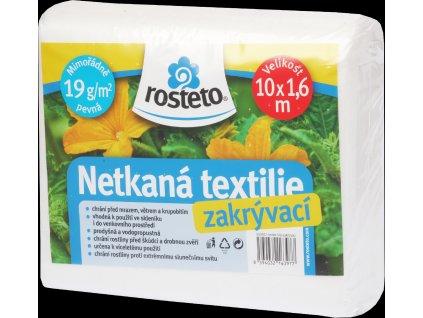 Neotex / netkaná textilie Rosteto - bílý 19g šíře 10 x 1,6 m