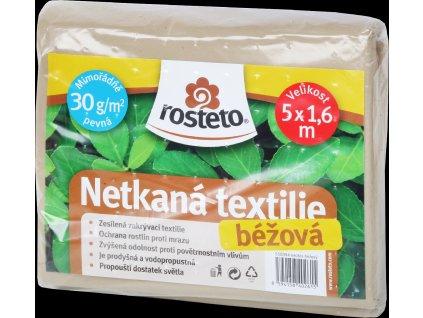 Neotex / netkaná textilie Rosteto - béžový 30g šíře 5 x 1,6 m