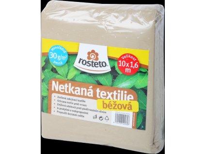 Neotex / netkaná textilie Rosteto - béžový 30g šíře 10 x 1,6 m