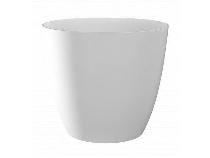 Obal Ella - lesklá bílá 18 cm