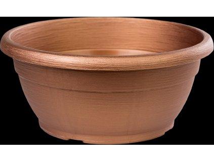 Žardina Similcotto broušená - bronzová 25 cm