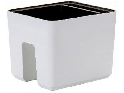 Berberis truhlík samozavlažovací na zábradlí bílá 30 cm