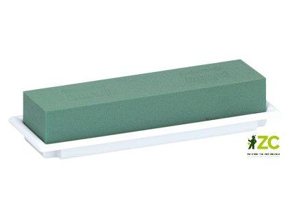 Aranžovací miska bílá střední 25,5x9x5,5 cm kód (Florex)