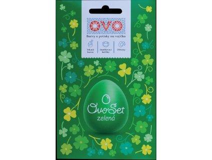 OVO - Set zelený (tekutá barva + košilky + aršík)