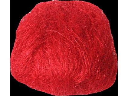 Sisálové vlákno Rosteto 30 g červené