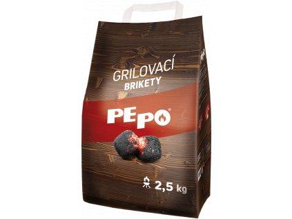 Brikety PE-PO grilovací 2,5kg