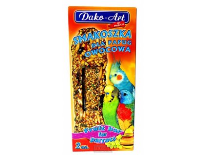 Dako Tyčinka andulka ovocná 2ks-10276