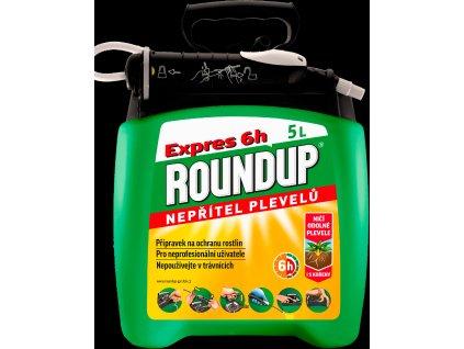 Roundup Expres 6h 5L rozprašovač