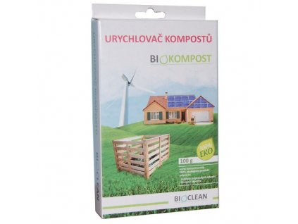 Biokompost 100g urychlovač kompostů