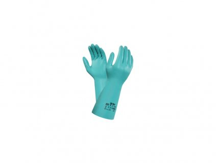 Chemické rukavice ANSELL SOL-VEX 37-695, máčené v nitrilu