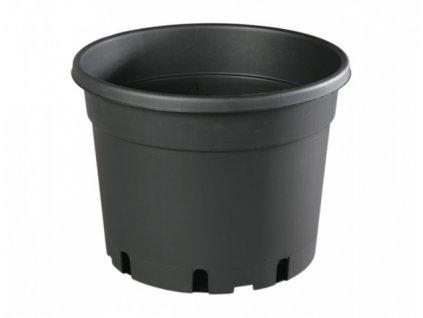 Květník CLASSIC MCD lehčený plastový černý d31cm 12l