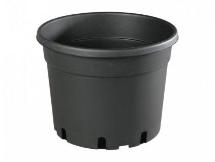 Květník CLASSIC MCD lehčený plastový černý 35l d45cm