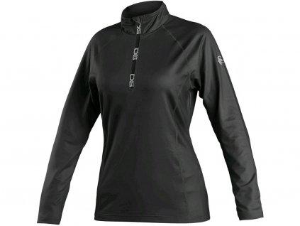 Mikina / tričko CXS MALONE, dámská, černá