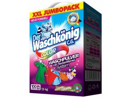 Waschkonig Color box - prací prášek 100PD/7,5kg