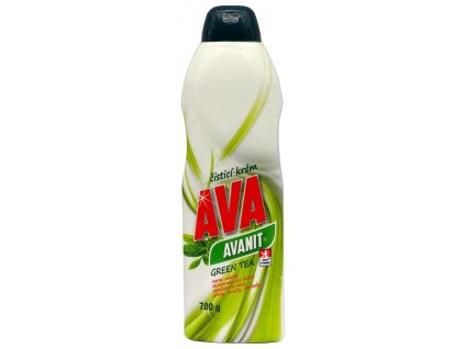 AVA avanit čisticí krém Green Tea 700 g